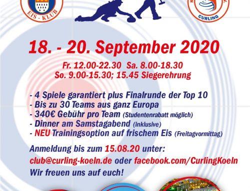 Einladung zum 9. Kölner Curling Turnier